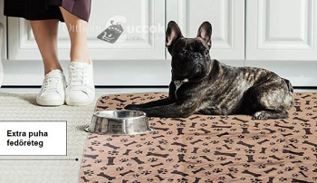 Mosható, újrahasznosítható kutyapelenka szobatisztaság tanításához
