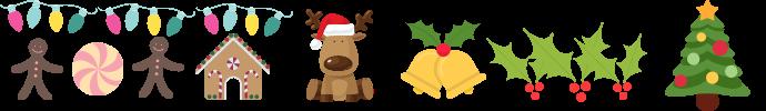Karácsonyi dekórációk, sütés főzés