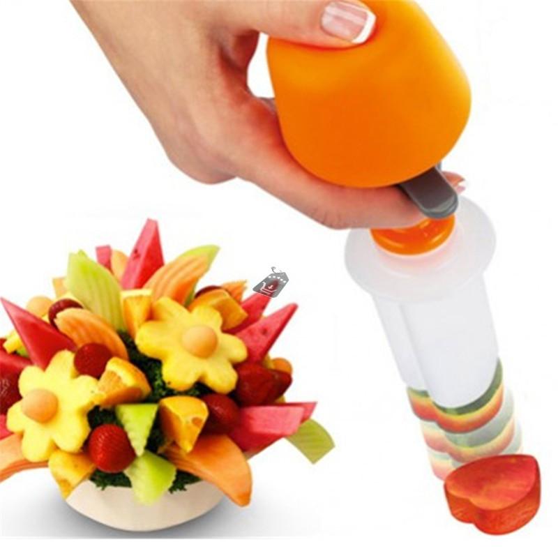 6db-os Zöldség - gyümölcs dekoráció készítő