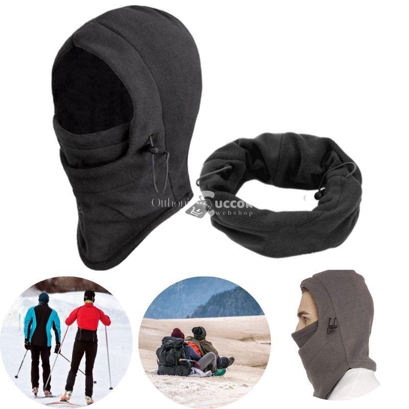 Arcvédő téli maszk