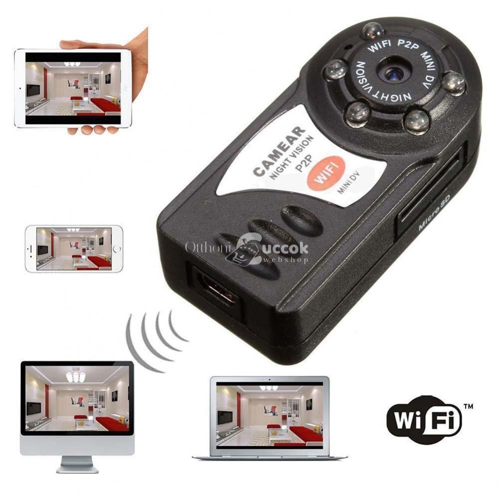 WiFi-s mini kamera (éjjellátó)