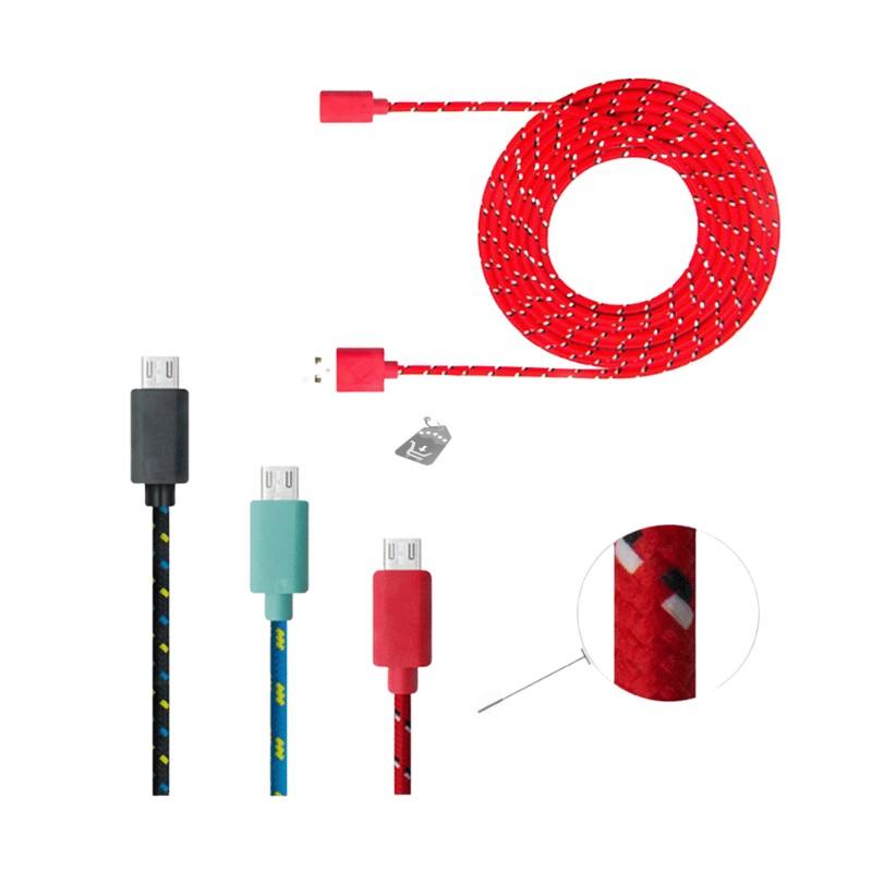 Strapabíró 2 méteres micro-usb kábel