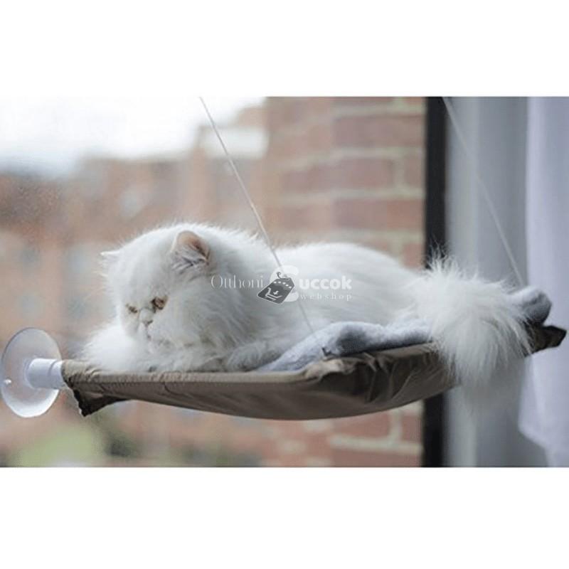 Macskaágy - ablakra tapasztható