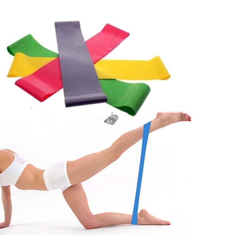 Pilates erősítő gumiszalag (2db)