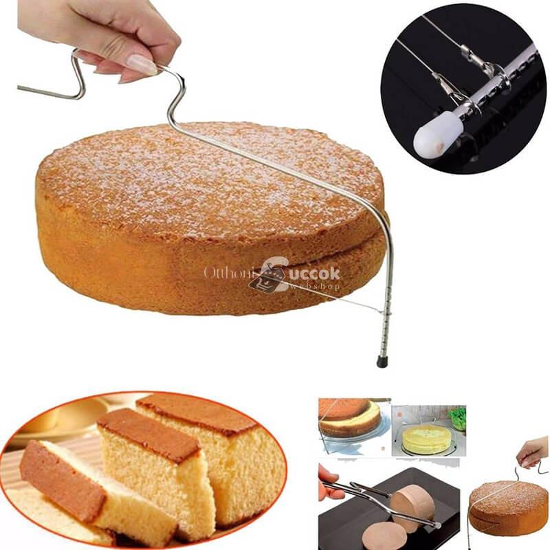 Torta és piskóta szeletelő
