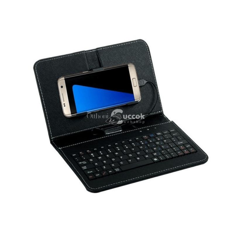 Telefontok billentyűzettel - Fekete