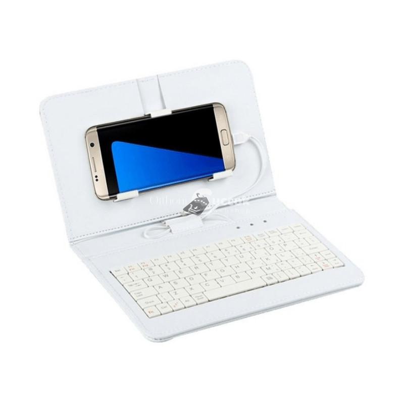 Telefontok billentyűzettel - Fehér