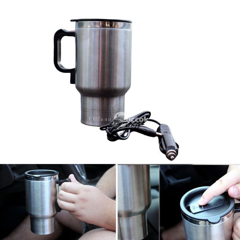 Szivargyújtóról melegíthető pohár- termosz