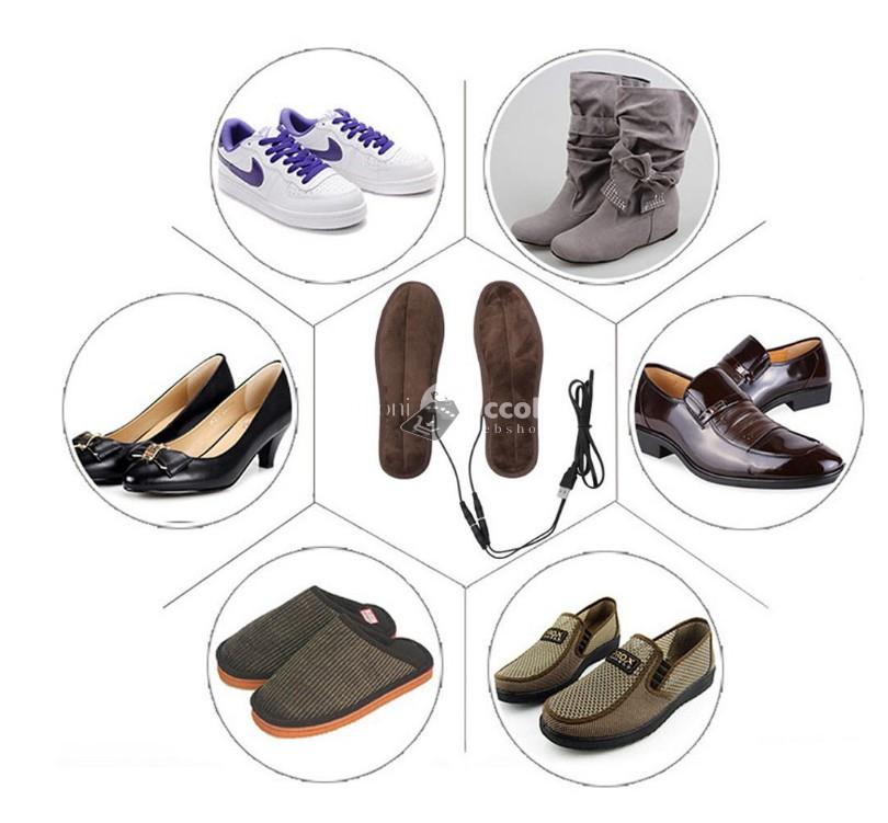 (6 méretben) Cipőmelegítő. Fűthető talpbetét (41-42-es)