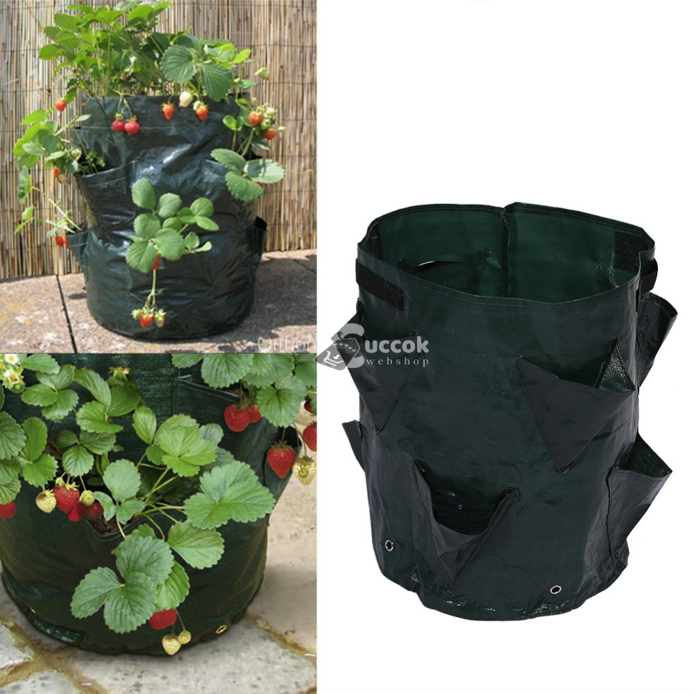 Ültető zsák, növénytermesztő zsák