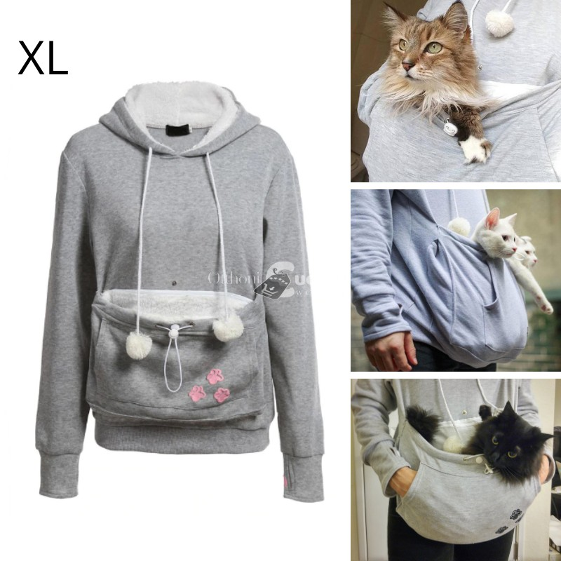Cica gazdi pulcsi - XL méret