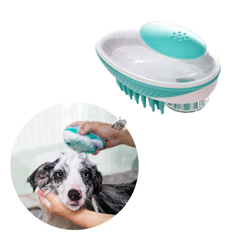 Kutya fürdető kefe