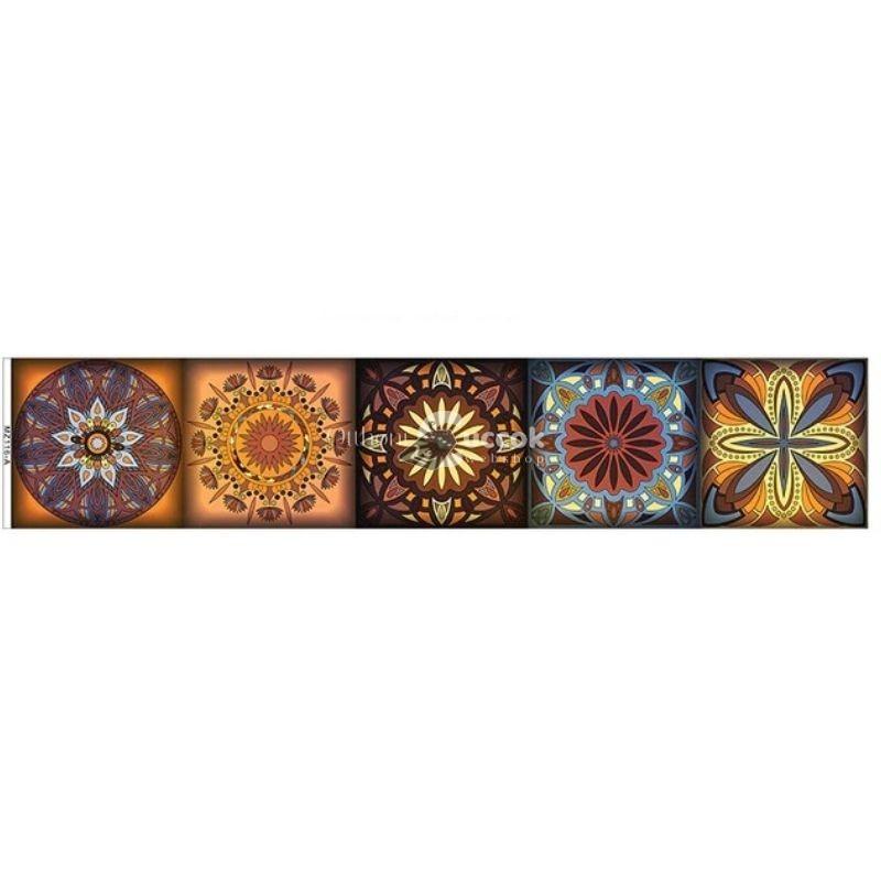 (4 féle minta) Csempefólia, öntapadós matrica (3)