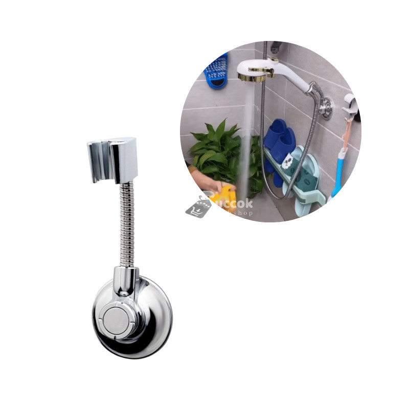 Prémium vákuumos zuhanyfej tartó