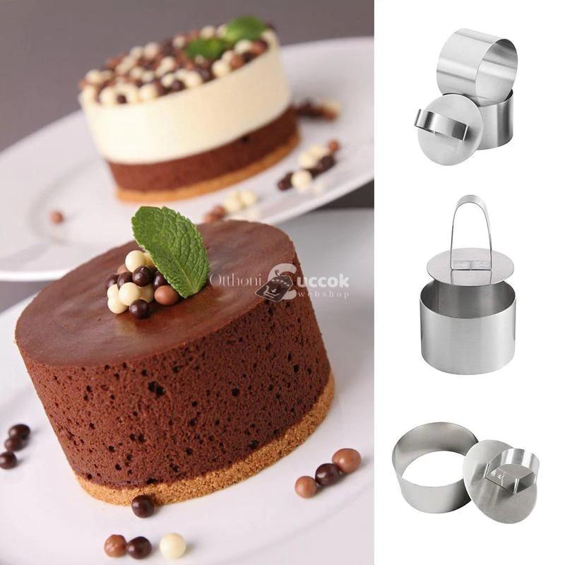 Köralakú sütemény (Mousse) forma