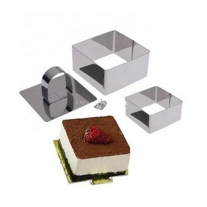 Négyzet alakú sütemény (Mousse) forma