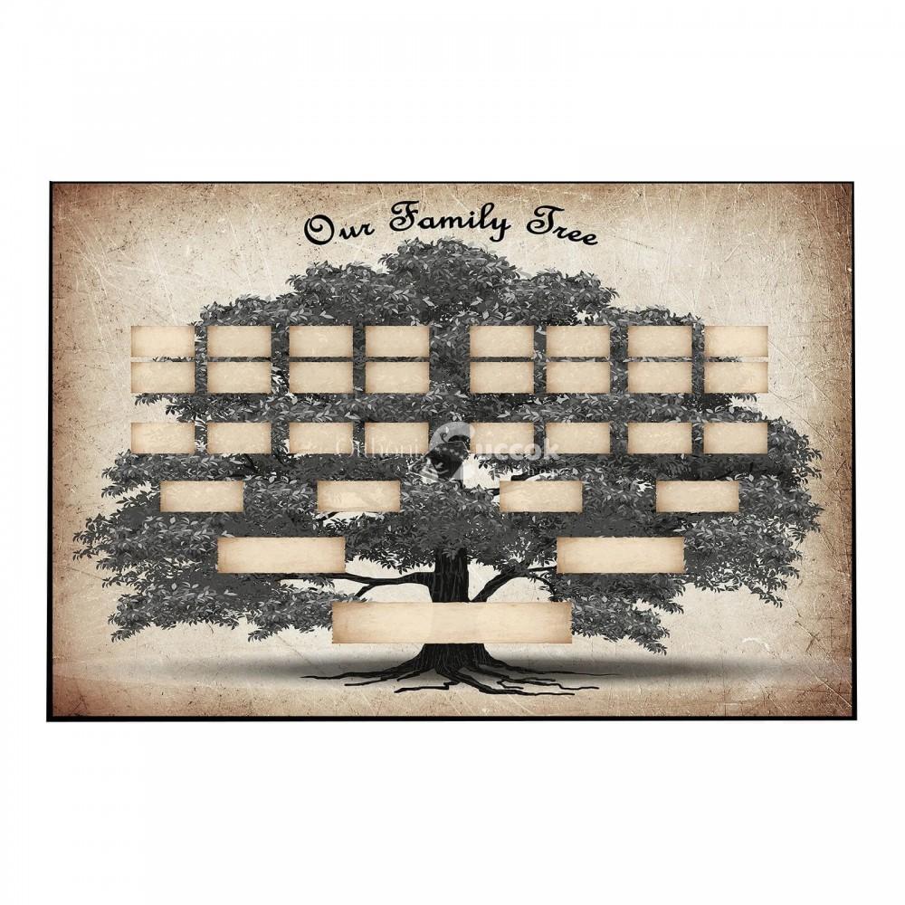 Fali családfa plakát