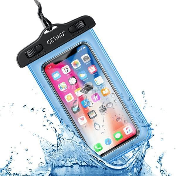 Vízálló telefontok (kék)