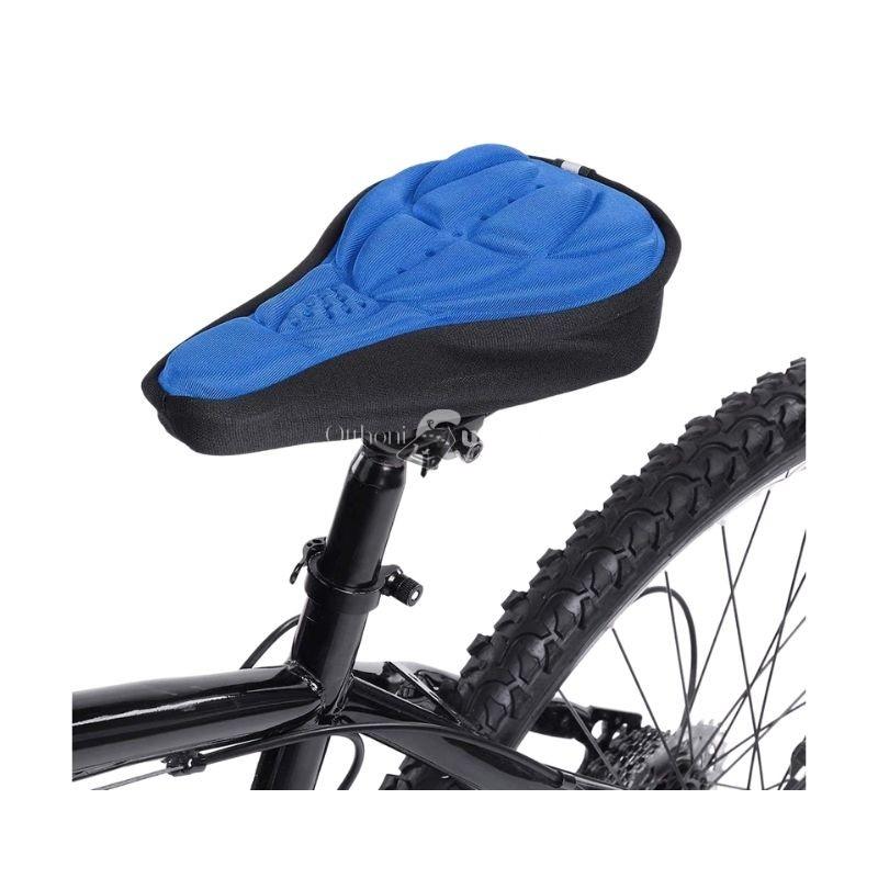Nyereghuzat, bicikli üléshuzat (légáteresztő) kék