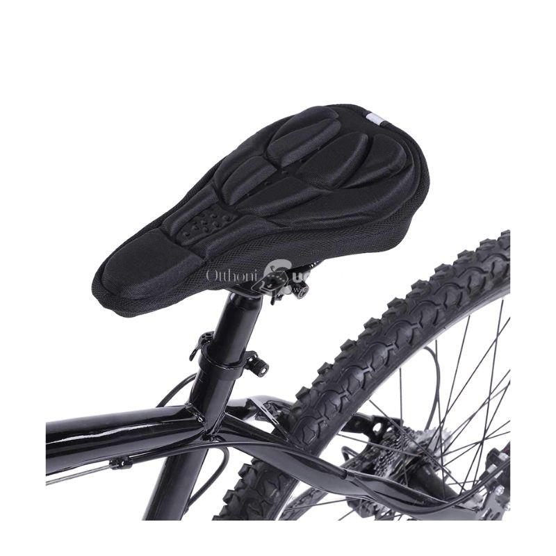 Nyereghuzat, bicikli üléshuzat (légáteresztő) fekete