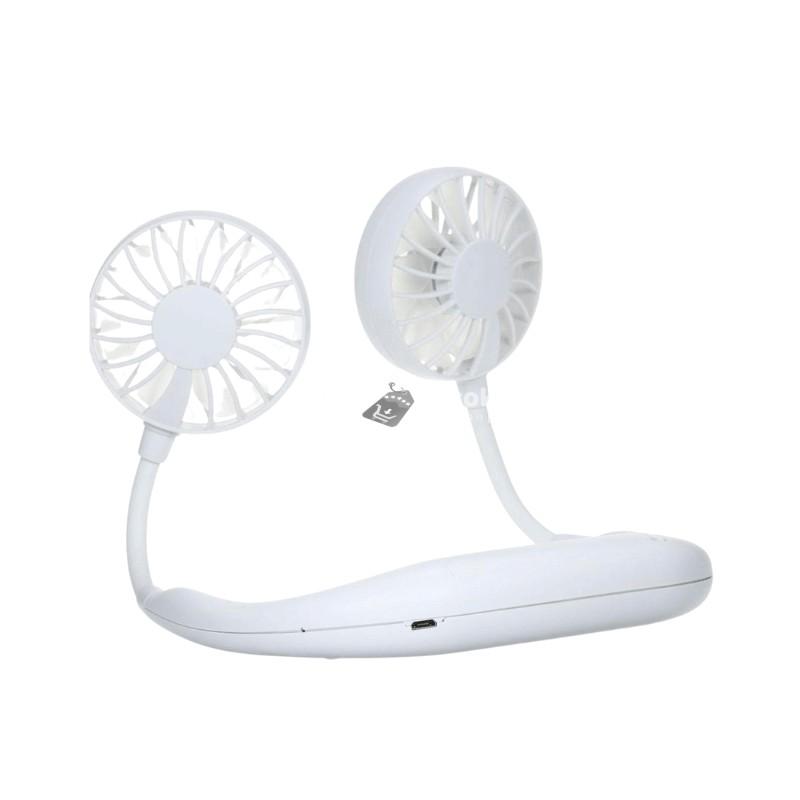 Nyakba akasztható ventilátor(Fehér)