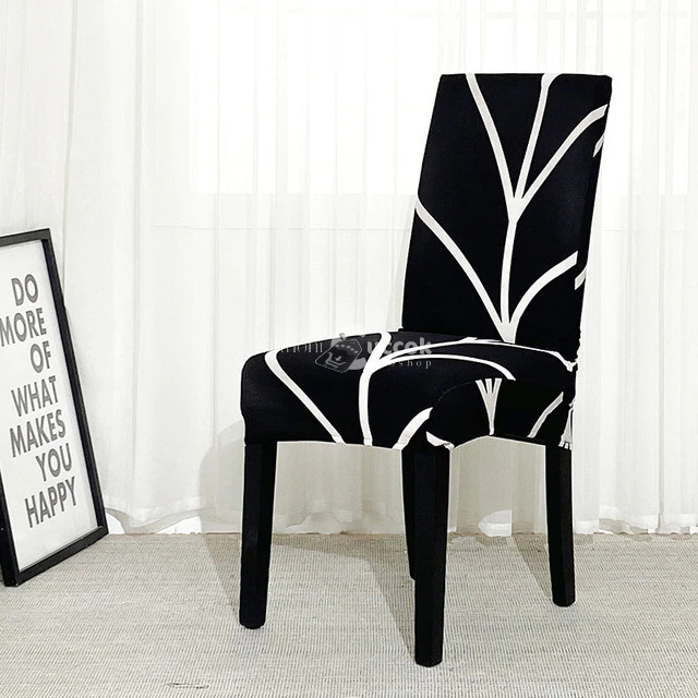 4 db Fekete csíkos víz lepergető székhuzat
