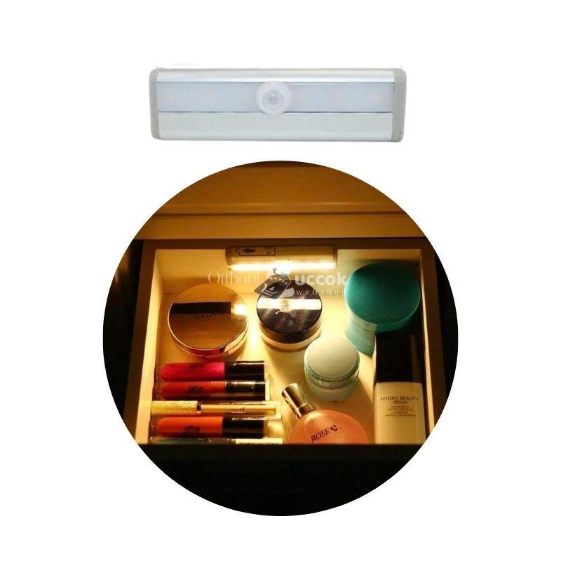 Mozgásérzékelős fiók, és szekrény világitás (elemes)