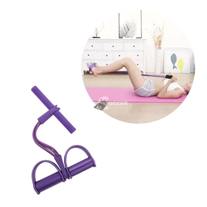 Fitness erősítő kötél (lila)