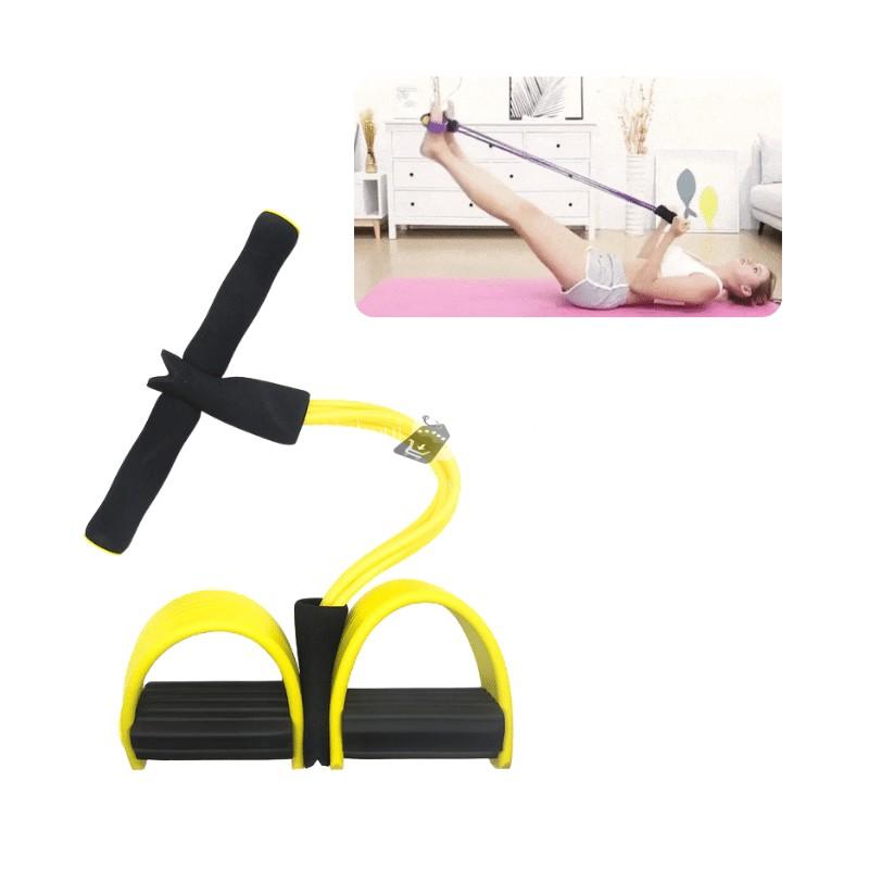 Fitness erősítő kötél (sárga)