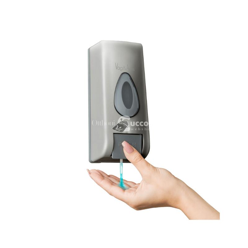 Falra szerelhető szappanadagoló - Ezüst