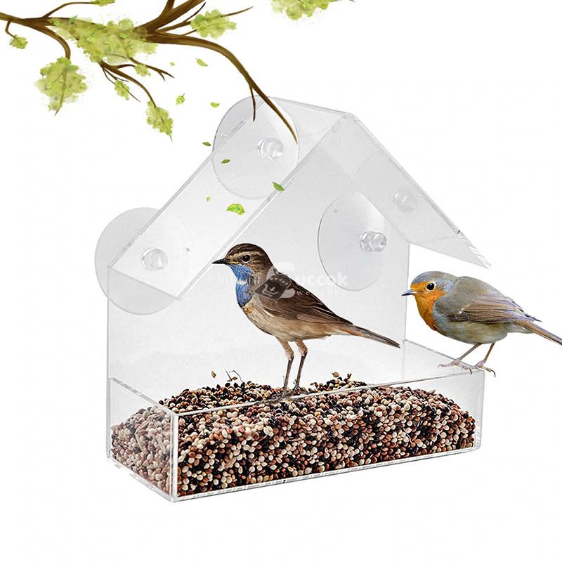 Műanyag kis madárház