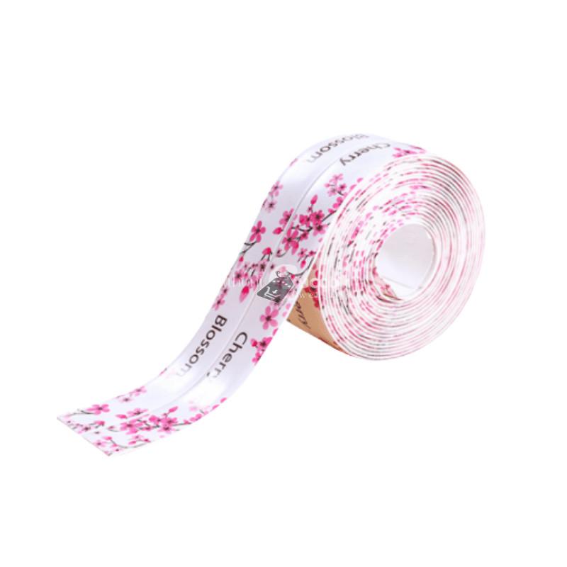 Penészálló tömítőszalag - Fehér Virágos