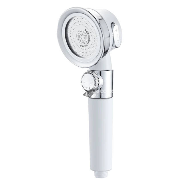 Víztakarékos Zuhanyfej - Fehér