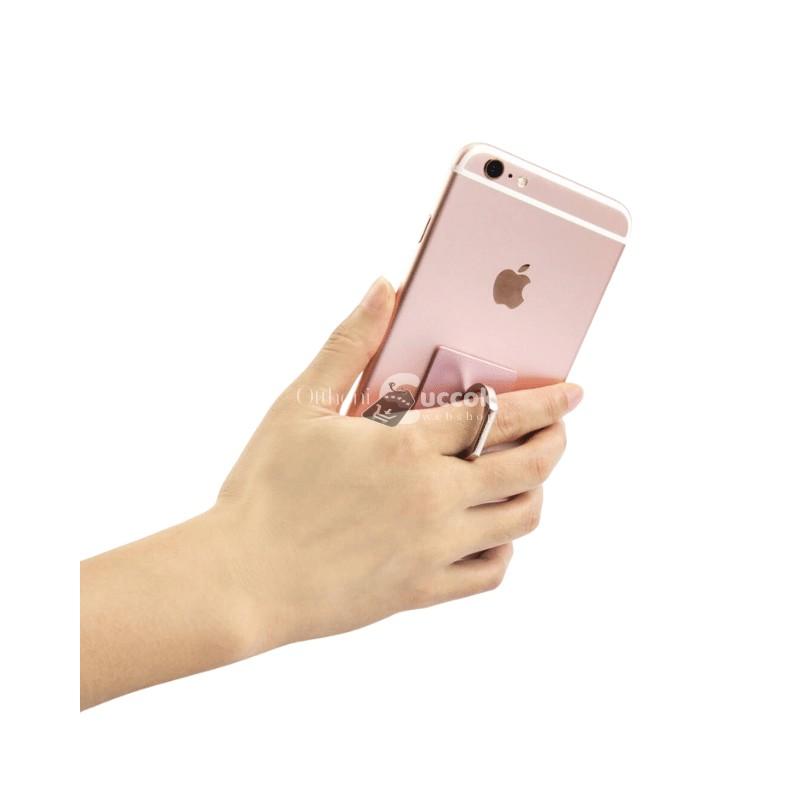 Telefontartó gyűrű - Rózsaszín