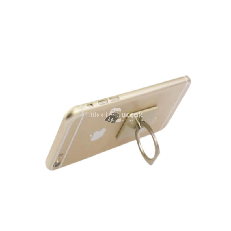 Telefontartó gyűrű - Arany