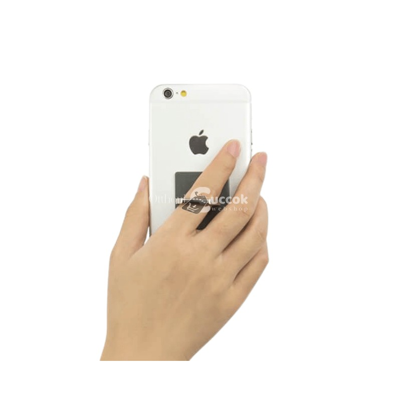 Telefontartó gyűrű - Ezüst
