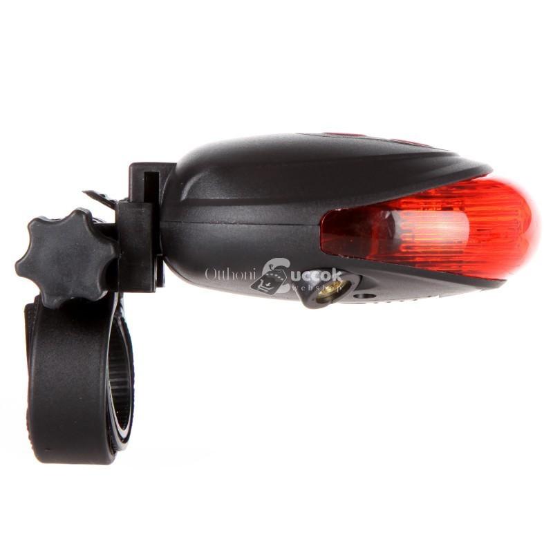 Kerékpár lámpa - lézeres hátsó lámpa