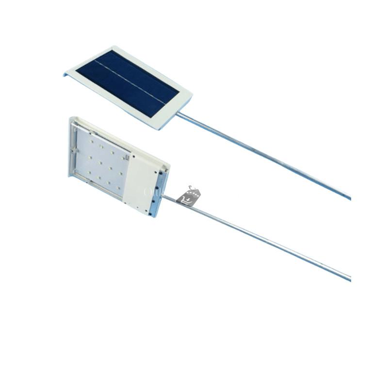 12 ledes vízálló napelemes kültéri lámpa
