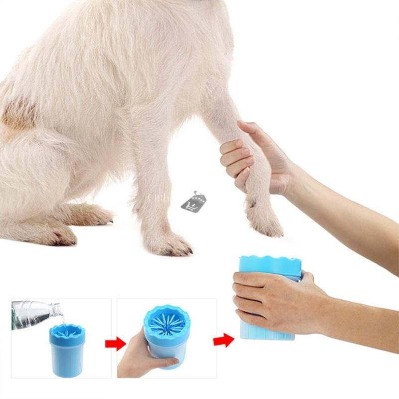 Mancstisztító kutyáknak (kék)